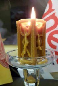 Рунная свеча