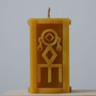 Рунная свеча Исполнение желания